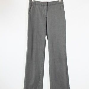 Gray TALBOTS wide leg dress pants 6